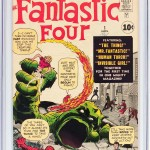Fantastic Four #1 CGC 9.2 White Mountain